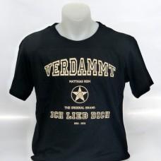 25 Jahre Jubiläumsshirt, schwarz, for men