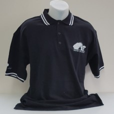 "Brian May ""another world"" Poloshirt in schwarz"