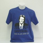 "Howard Carpendale Tour-Shirt ""Das alles bin ich"", blau"