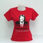 "Howard Carpendale Tour-Shirt Girlie ""Das alles bin ich"", rot"