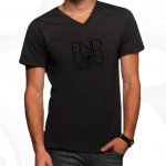T-Shirt, men, V-Neck