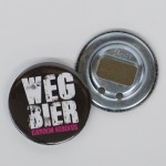 """Flaschenöffner """"Wegbier"""""""