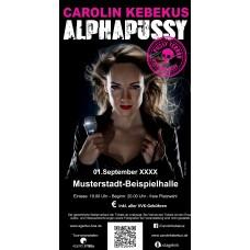 Alphapussy Premium-Ticket Carolin Kebekus für den 16.12.2017 in Regensburg