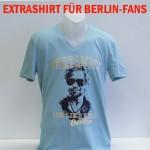 "T-Shirt V-Neck ""Verdammt ich lieb dich Berlin"""