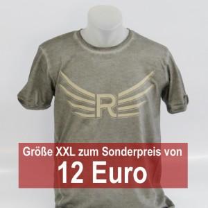PHOENIX Man Shirt denim grau XXL
