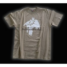 Paul Carrack T-Shirt in braun
