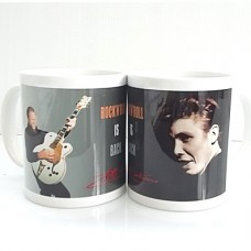 "Peter Kraus Tasse ""Rock 'n' Roll is back"""