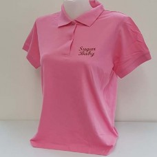 "Peter Kraus Polo-Shirt ""Sugar Baby"" pink"