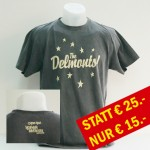 "T-Shirt dunkelgrau ""Delmonts"""